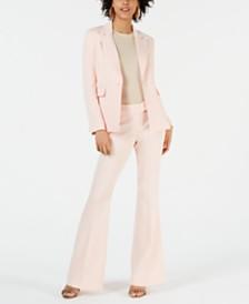 Rachel Zoe Suzanne Single-Button Notched-Lapel Blazer & Flare-Leg Pants