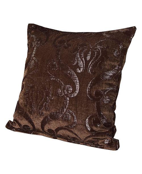 "Siscovers Casablanca 20"" Designer Throw Pillow"