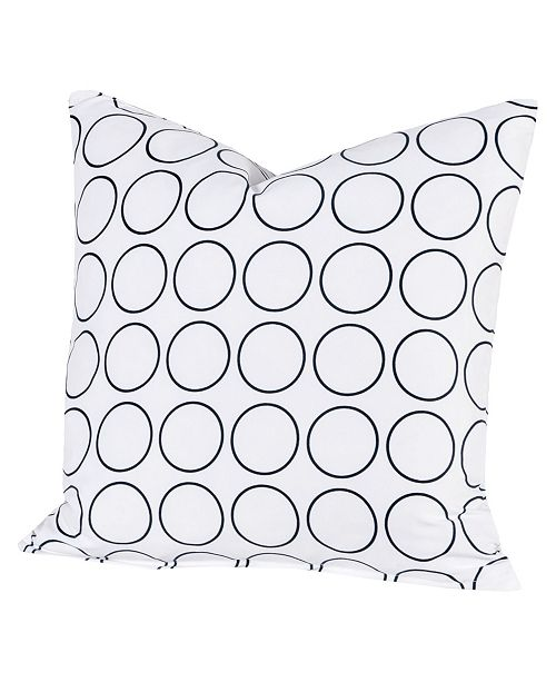 """Siscovers Recycle 16"""" Designer Throw Pillow"""