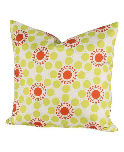 """Siscovers Drip Drop 20"""" Designer Throw Pillow"""