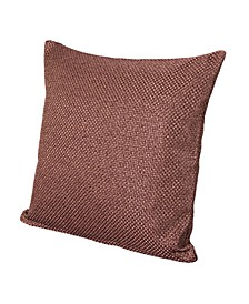 "Silk Route Ginger 20"" Designer Throw Pillow"