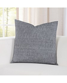 """Siscovers Pacific Black Sand 20"""" Designer Throw Pillow"""