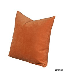 "Siscovers Padma Orange 20"" Designer Throw Pillow"