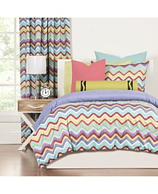 Crayola Mixed Palette 5 Piece Twin Luxury Duvet Set