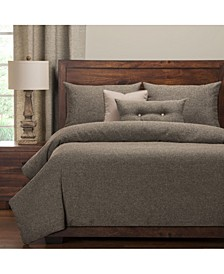 Belmont Greystone 6 Piece Full Size Luxury Duvet Set