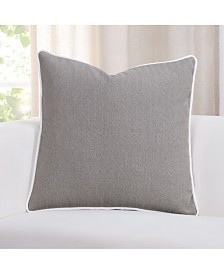 "Revolution Plus Everlast Herringbone 26"" Designer Euro Throw Pillow"