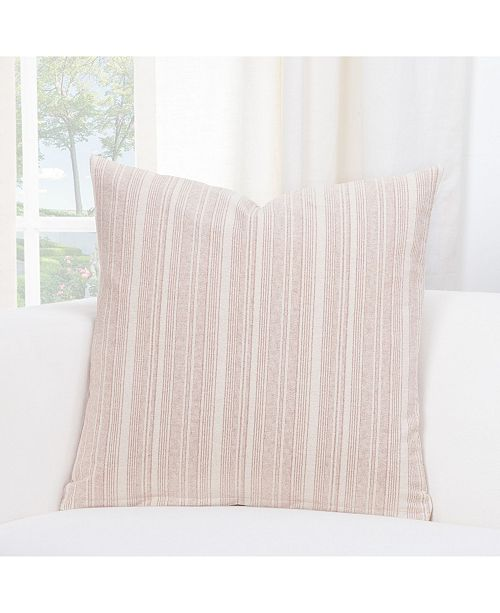 "Siscovers Sunwashed Brick Farmhouse 26"" Designer Euro Throw Pillow"