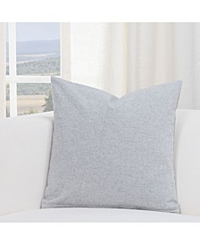 "Harvest Pewter 16"" Designer Throw Pillow"