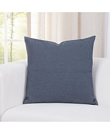 "Revolution Plus Everlast Chevron Blue 26"" Designer Euro Throw Pillow"