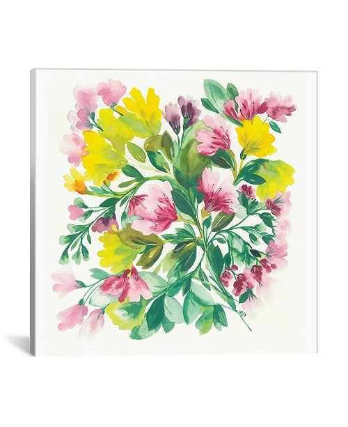 "iCanvas ""Peruvian Lilies"" By Kim Parker Gallery-Wrapped Canvas Print - 37"" x 37"" x 0.75"""