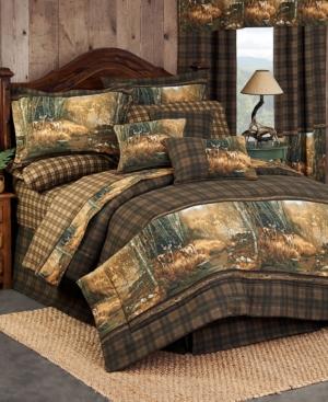 Blue Ridge Trading Whitetail Birch King Comforter Set Bedding