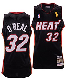 Men's Shaquille O'Neal Miami Heat Authentic Jersey