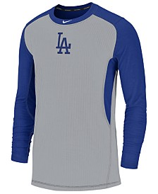 Nike Men's Los Angeles Dodgers Authentic Collection Game Top Pullover
