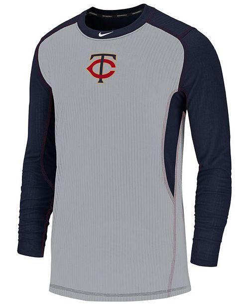 Nike Men's Minnesota Twins Authentic Collection Game Top Pullover