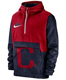 Nike Men's Cleveland Indians Walkoff Anorak Jacket