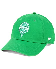 Authentic MLS Headwear Seattle Sounders FC St. Patricks Day Strapback Cap