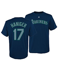 Majestic Big Boys Mitch Haniger Seattle Mariners Official Player T-Shirt