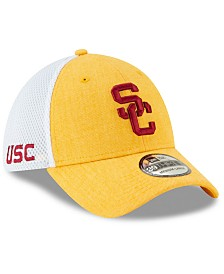 New Era USC Trojans Heathered Front Neo 39THIRTY Stretch Fitted Cap