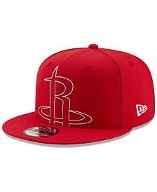 New Era Houston Rockets Light It Up 9FIFTY Snapback Cap