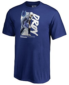 Majestic Men's Darius Leonard Indianapolis Colts Defensive Rookie Of Year T-Shirt
