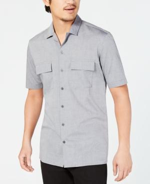 1950s Mens Shirts | Retro Bowling Shirts, Vintage Hawaiian Shirts Alfani Mens Camp Collar Shirt Created for Macys $27.50 AT vintagedancer.com