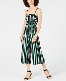 INC Corset-Top Jumpsuit, Created for Macy's