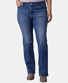 Lee Platinum Plus Size Bootcut-Leg Jeans