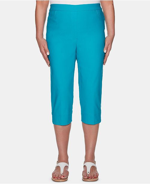 Alfred Dunner Waikiki Pull-On Capris