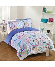 Flutter 2-Piece Comforter Set, Twin