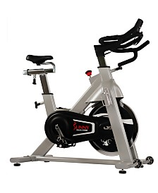 Sunny Health and Fitness 44LBS Flywheel Belt Drive Commercial Indoor Cycling Bike