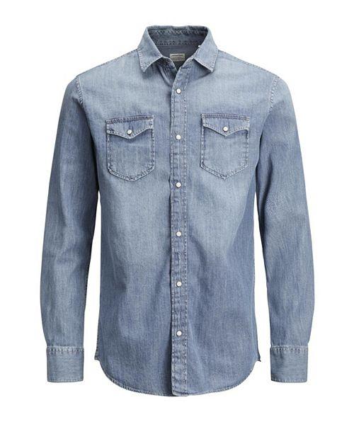 Jack & Jones Men's Sheridan Push Button Denim Shirt