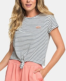 Roxy Juniors' Magical Sunset Cropped T-Shirt
