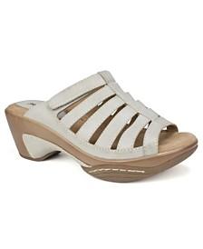 Rialto Valencia Casual Slide Sandals