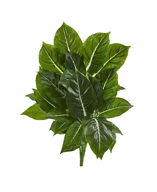 """Nearly Natural 25"""" Evergreen Artificial Plant (Set of 3) (Real Touch)"""