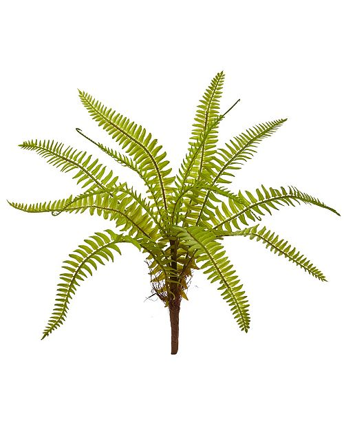 "Nearly Natural 12"" Fern Artificial Plant (Set of 12)"