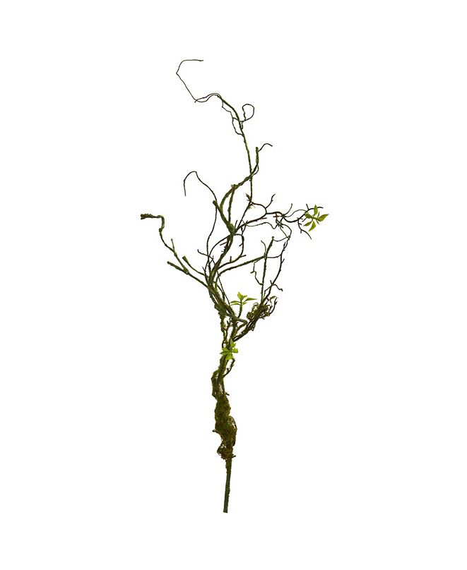"""Nearly Natural 24"""" Moss Twig Vine Artificial Plant (Set of 6)"""