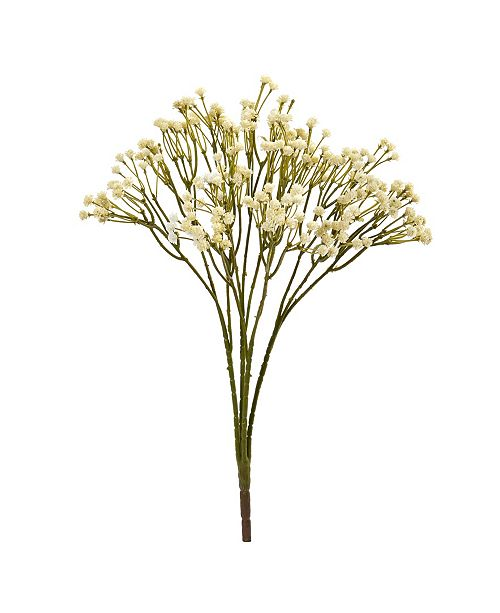"Nearly Natural 16"" Gypsophila Spray Artificial Flower (Set of 12)"