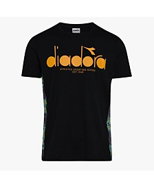 Diadora Men's 5Palle Offside Side Taped Tshirt