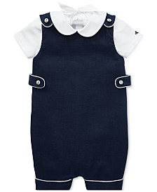 Polo Ralph Lauren Baby Boys Bodysuit & Overalls Set