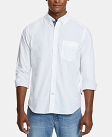 Men's Classic-Fit Stretch Button-Down Shirt