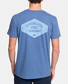 Quiksilver Men's Heathered Logo T-Shirt
