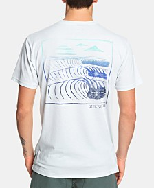 Quiksilver Men's Monster Waves Logo T-Shirt