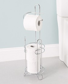 Home Basics Toilet Paper Holder and Dispenser