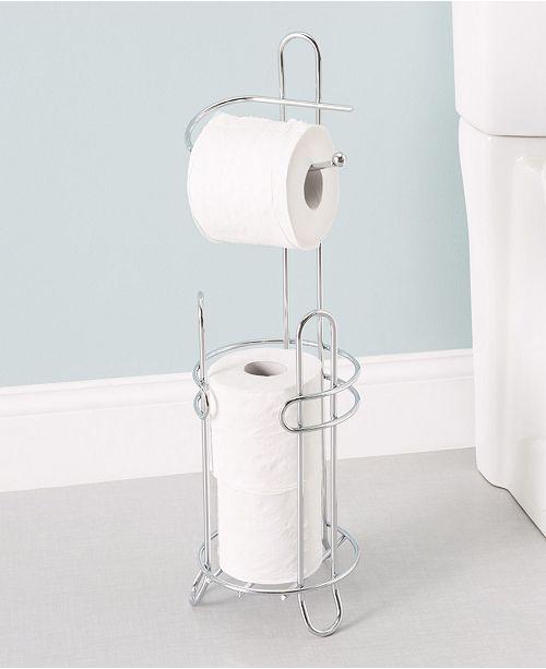 Home Basics Toilet Paper Holder and Dispenser