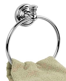 Home Basics Wall-Mounted Towel Ring