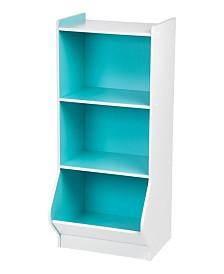 3-Tier Storage Organizer Shelf with Footboard