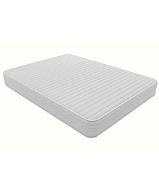 Contour 8'' Reversible Independently Encased Coil Mattress Foam, Queen