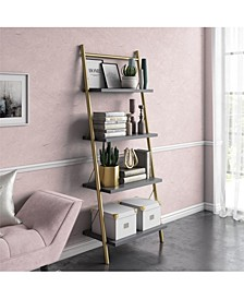 by Cosmopolitan Nova 4 Shelf Ladder Bookcase