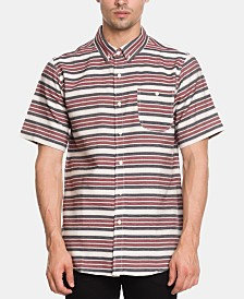 Ezekiel Men's Chalk Stripe Short Sleeve Woven