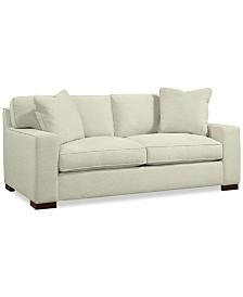 "Bangor 81"" Fabric Apartment Sofa - Custom Colors, Created for Macy's"
